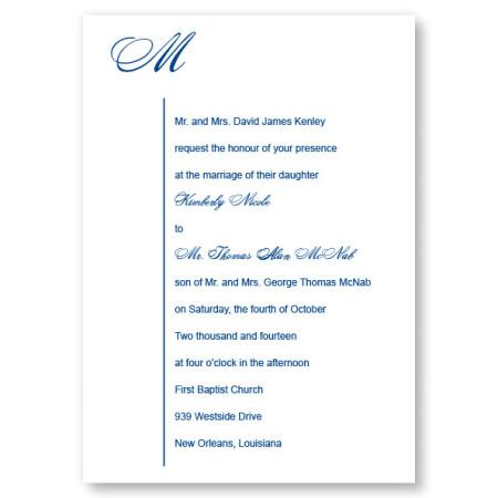 Graceful Style Wedding Invitations