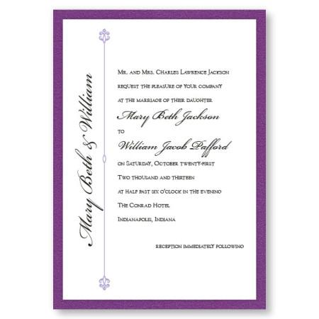 Harmony II Classic Wedding Invitations