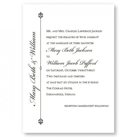 Harmony Wedding Invitations