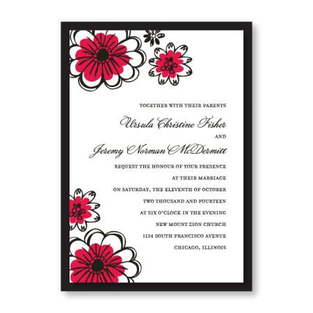 Love in Bloom Wedding Invitations