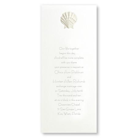 Majestic Beach Wedding Invitations