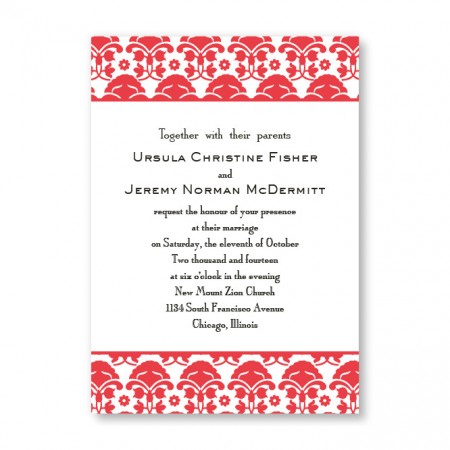 Ornately Yours Wedding Invitations