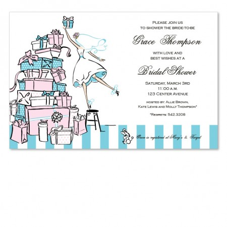 Present Stack Invitations