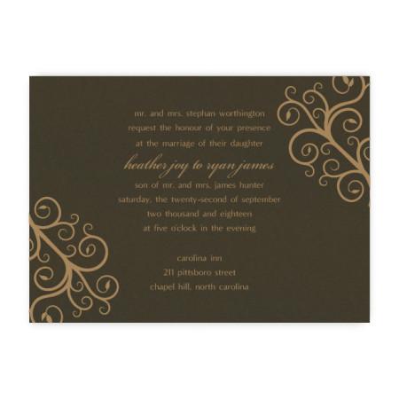 Riley Unique Wedding Invitations