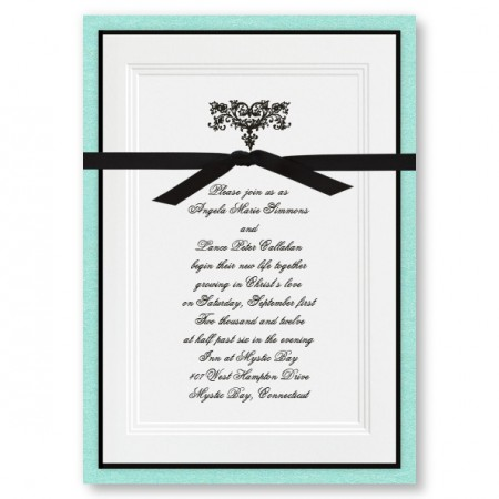 Renaissance Wedding Invitations SAMPLE