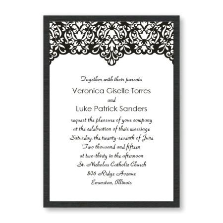 Simply Elegant Wedding Invitations