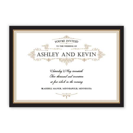 Sterling Classic Wedding Invitations