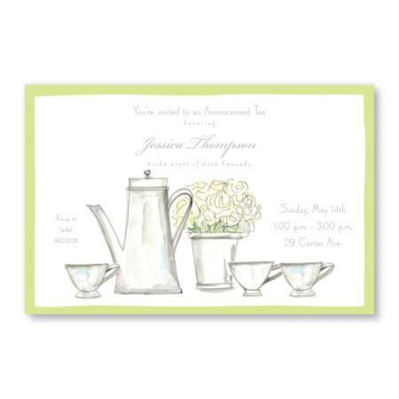 Tea Time Invitations