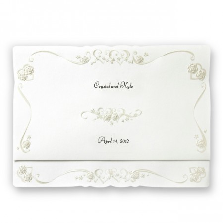 Truly Yours Pearl Wedding Invitations