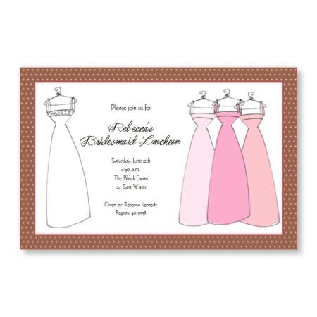 Wedding Dresses Invitations