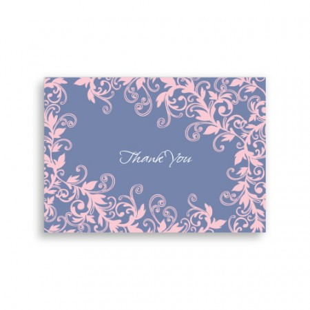 Flowering Vines Thank You Cards