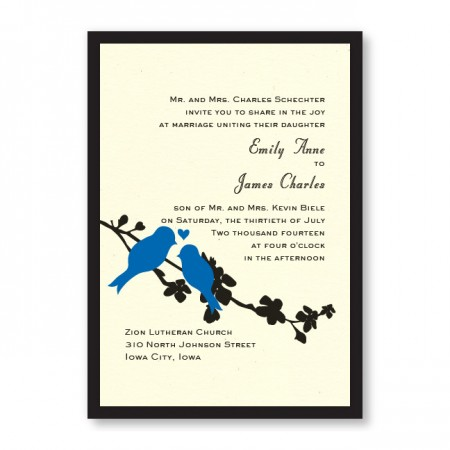 Wings of Love Wedding Invitations