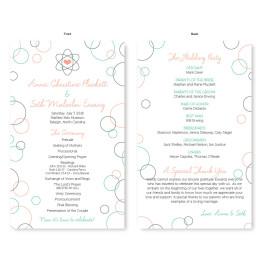 Chemistry Wedding Program