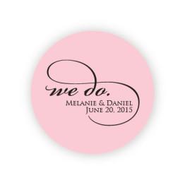 """We Do 2"""" Round Sticker"""