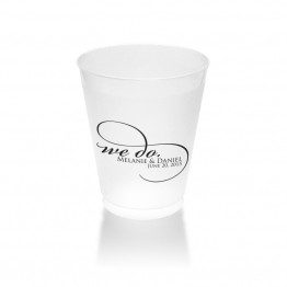 We Do Ever Clear or Frosted Plastic Tumblers