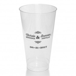 Tarryn Clear or Frosted Plastic Tumblers