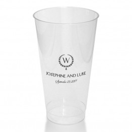 Elise Clear or Frosted Plastic Tumblers