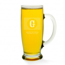 Chevron Beer Mug