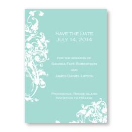 Venetian Romance Save The Date Cards