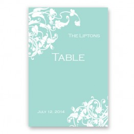 Venetian Romance Table Cards