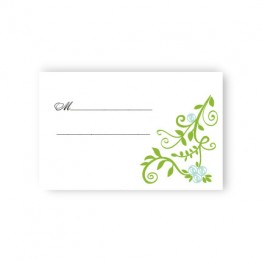 Regal Border Seating Cards
