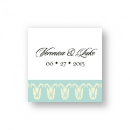 Blooming Border Favor Tags