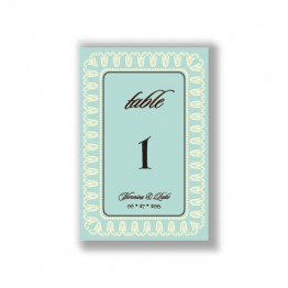 Blooming Border Table Cards