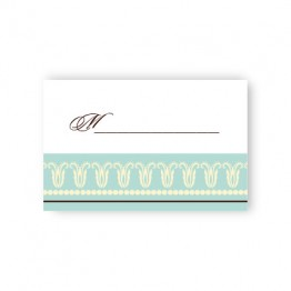 Blooming Border Seating Cards