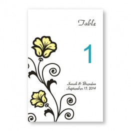 Spring Fling Table Cards