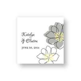 Floral Banner Favor Tags