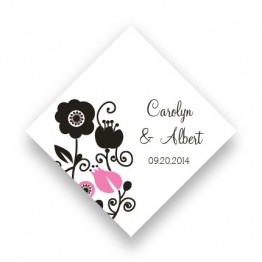 Floral Elegance Favor Tags