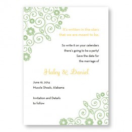 Wedding Bliss Save The Date Cards