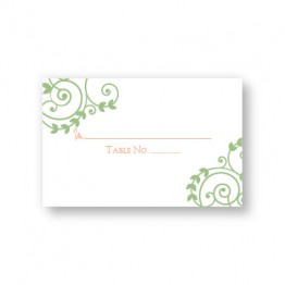 Symbol of Love Seating Cards