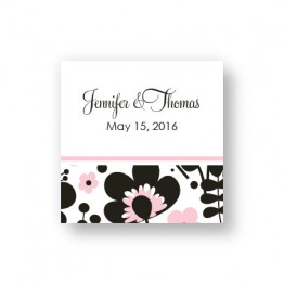 Flower Garden Favor Tags