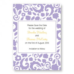 Divine Elegance Save The Date Cards