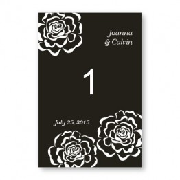 Bella Rose Table Cards