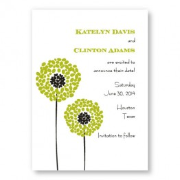 Whimsey Save The Date Cards