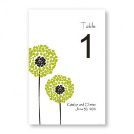 Whimsey Table Cards