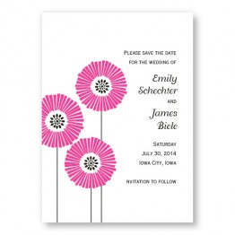 Love Blossoms Save The Date Cards