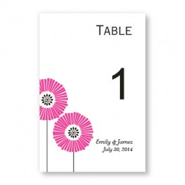 Love Blossoms Table Cards