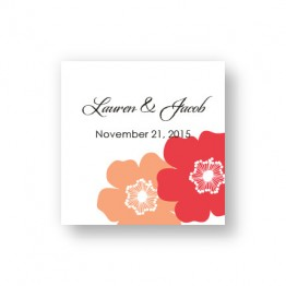 Matchless Beauty Favor Tags