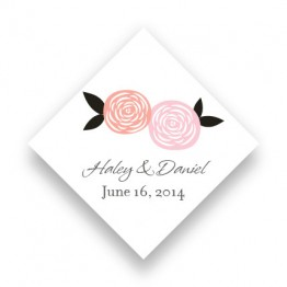 Radiant Roses Favor Tags