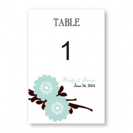 Jubilation Table Cards