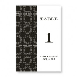 Buckingham Table Cards