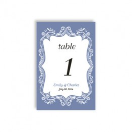 Ornamental Border Table Cards