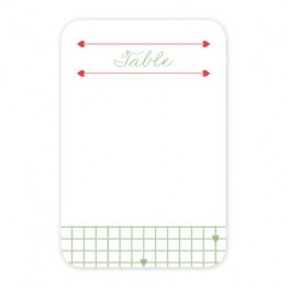 Addie Table Cards