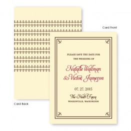 Gretchen Save The Date Cards