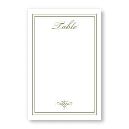 Calista Table Cards