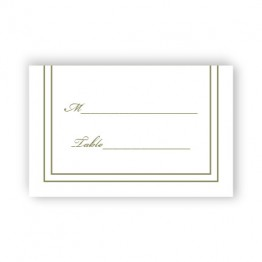 Calista Seating Cards