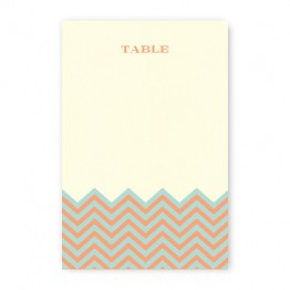 Frances Table Cards